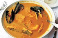 Bouillabaisse (einfache, mit hier erhältlichen Fischen)