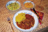 Rougail mango und Rougail concombre