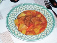 Gulai Pagar Puri (Lamm-Curry aus Sumatra)
