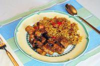 Pandhi Curry Coorg - Schweinepfanne